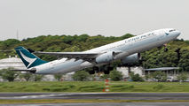 B-HLD - Cathay Pacific Airbus A330-300 aircraft
