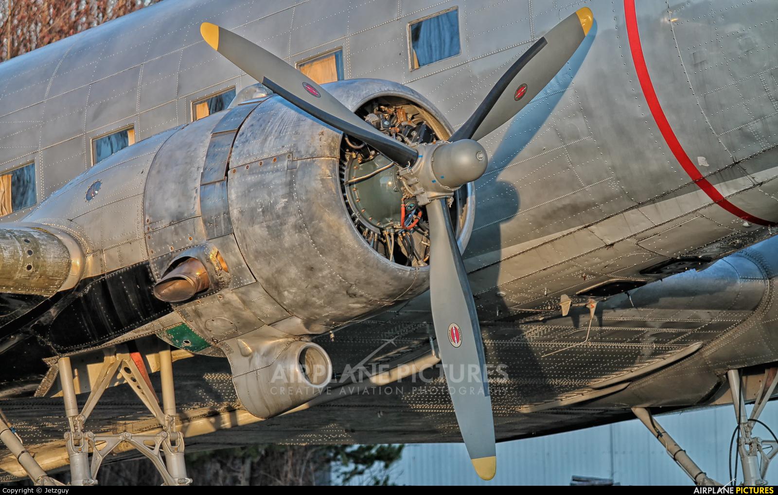 Historic Flight Foundation N877MG aircraft at Campbell River Airport
