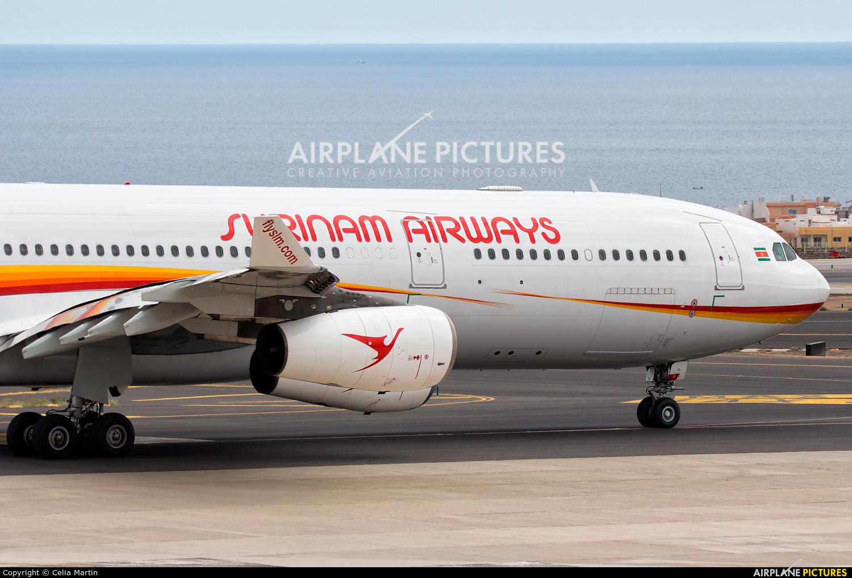 Surinam Airways PZ-TCR aircraft at Tenerife Sur - Reina Sofia