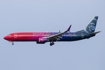 N493AS - Alaska Airlines Boeing 737-900
