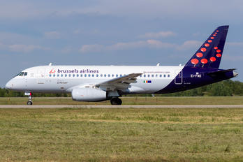 EI-FWD - Brussels Airlines Sukhoi Superjet 100