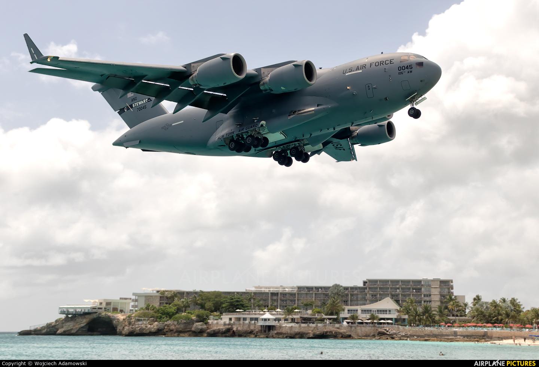 USA - Air Force 97-0045 aircraft at Sint Maarten - Princess Juliana Intl
