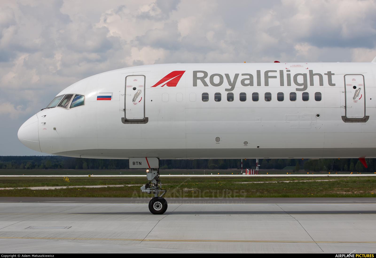 Royal Flight VQ-BTN aircraft at Katowice - Pyrzowice