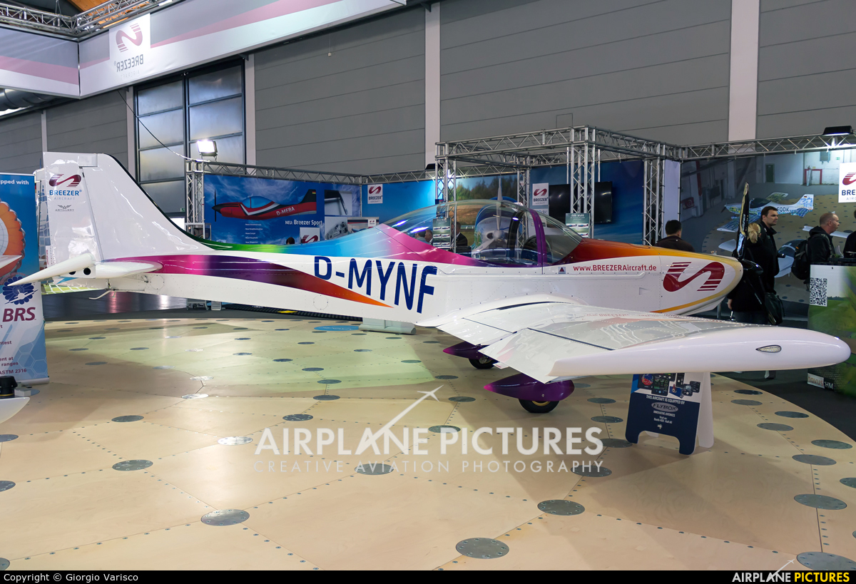 Private D-MYNF aircraft at Friedrichshafen