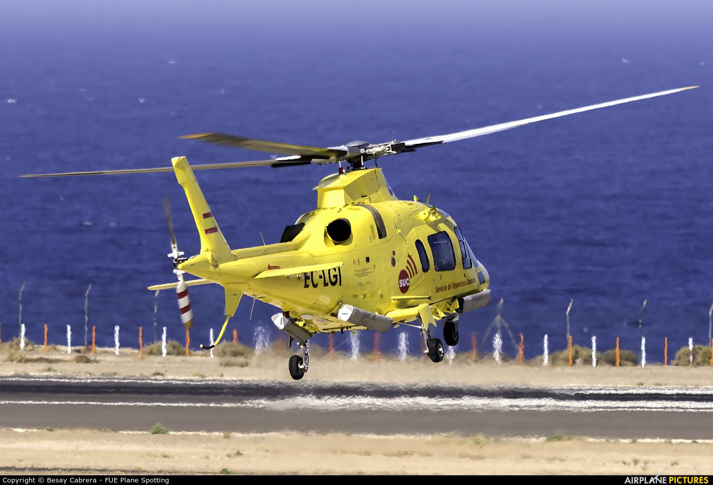 INAER - Gobierno de Canarias EC-LGI aircraft at Fuerteventura - Puerto del Rosario
