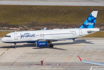 N580JB - JetBlue Airways Airbus A320