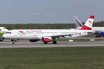 OE-LBC - Austrian Airlines/Arrows/Tyrolean Airbus A321