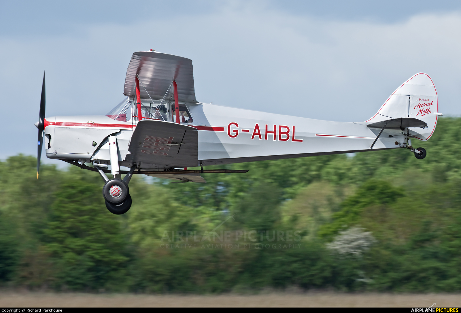 Private G-AHBL aircraft at Abingdon
