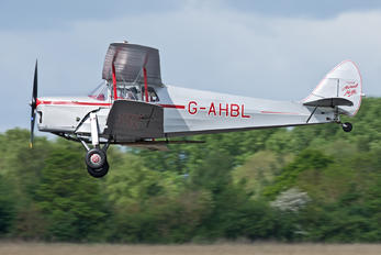 G-AHBL - Private de Havilland DH. 87 Hornet Moth