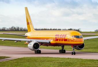 G-BIKJ - DHL Cargo Boeing 757-200F