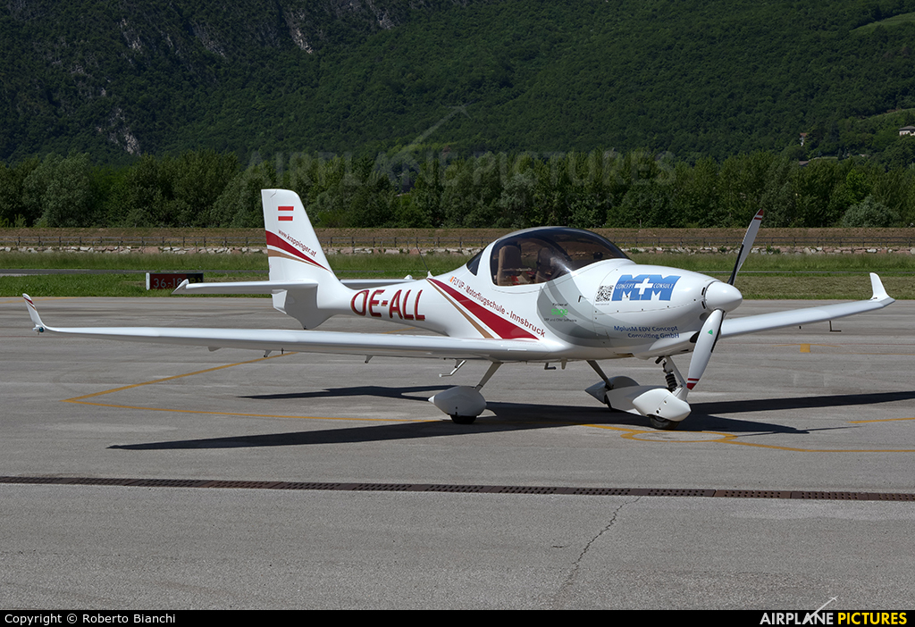 Private OE-ALL aircraft at Trento - Mattarello