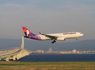 N389HA - Hawaiian Airlines Airbus A330-200