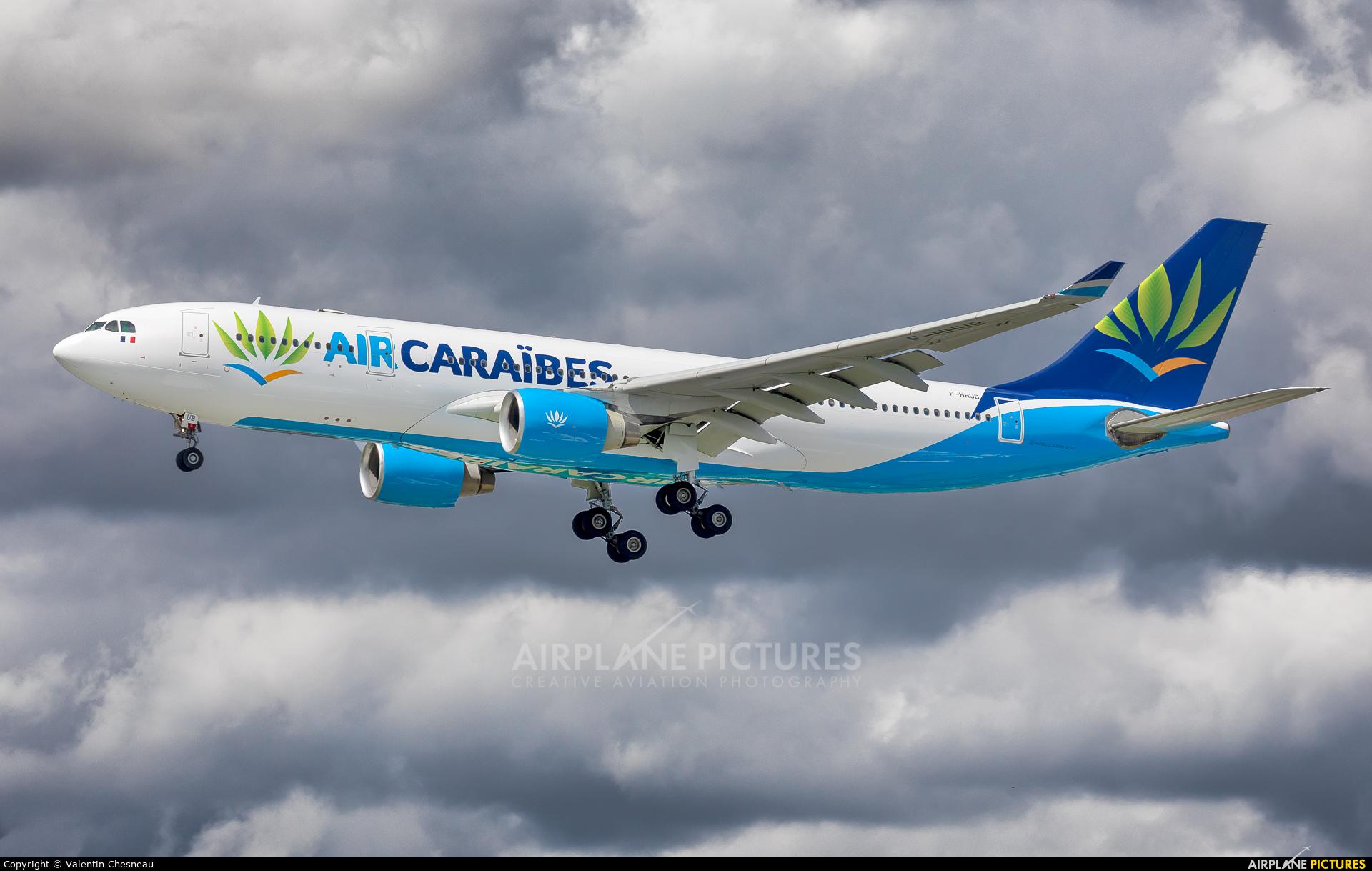 Air Caraibes F-HHUB aircraft at Paris - Orly