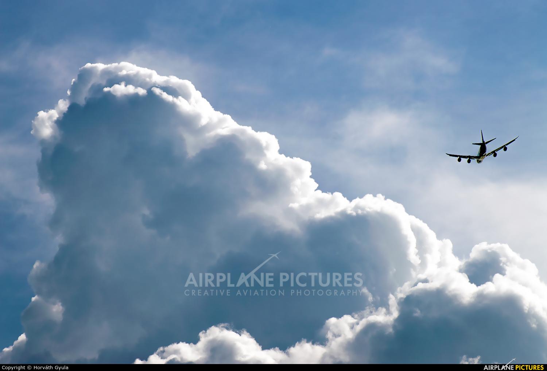Cargolux LX-VCJ aircraft at Budapest Ferenc Liszt International Airport