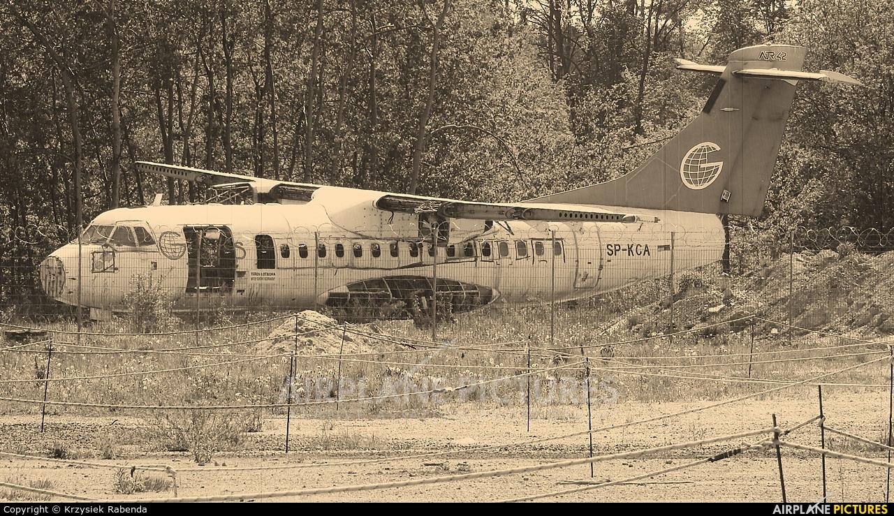 Globus SP-KCA aircraft at Katowice - Pyrzowice