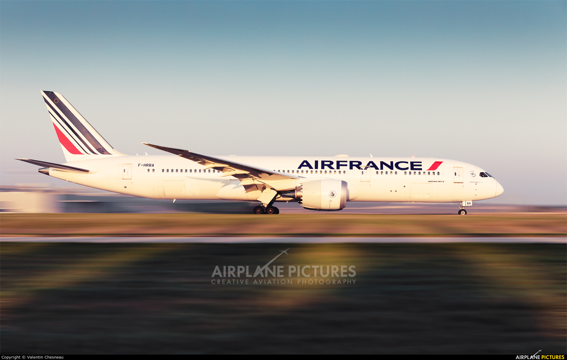 Air France F-HRBA aircraft at Paris - Charles de Gaulle