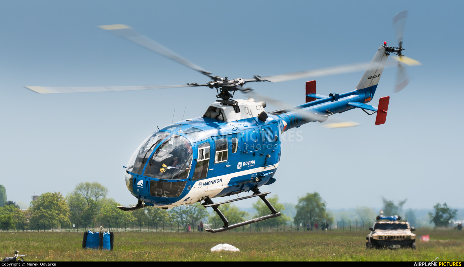 Blue Sky Service OK-AAA aircraft at Hradec Králové