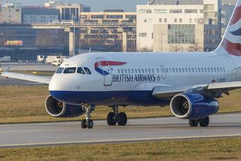 G-EUPO - British Airways Airbus A319