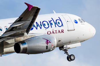 A7-AHL - Qatar Airways Airbus A320