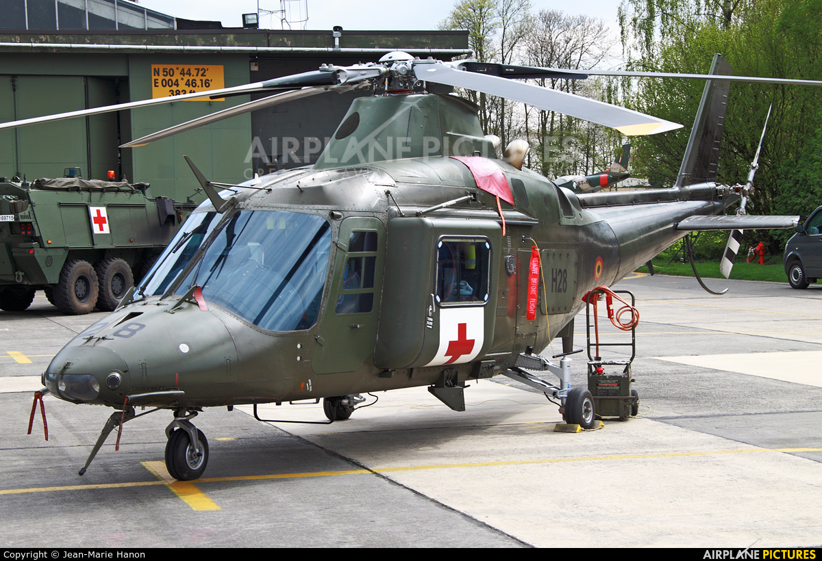 Belgium - Air Force H28 aircraft at Beauvechain