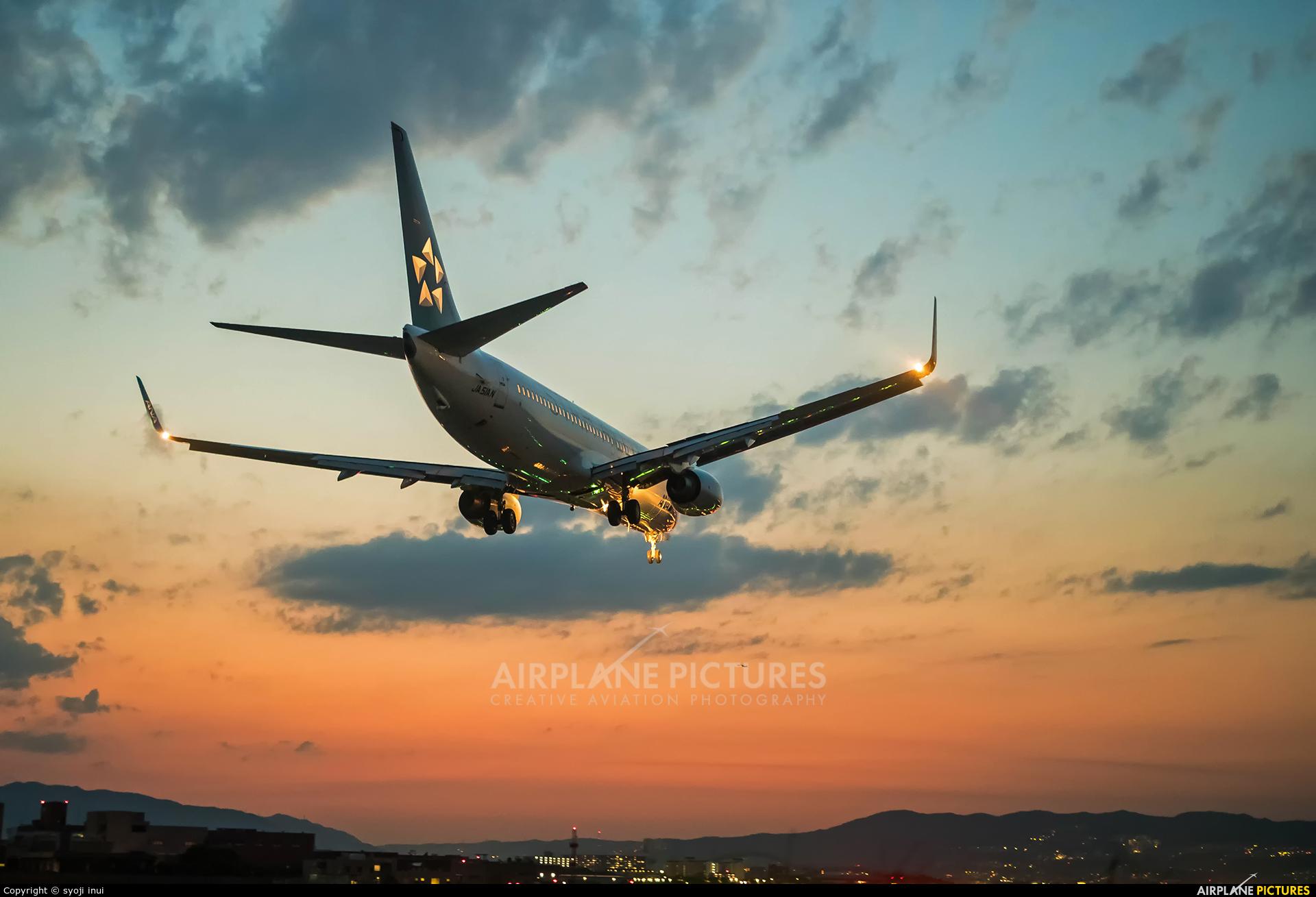 ANA - All Nippon Airways JA51AN aircraft at Osaka - Itami Intl