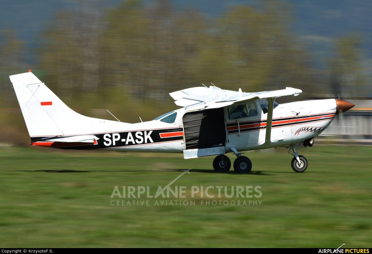 Aeroklub Warmińsko-Mazurski SP-ASK aircraft at Nowy Targ
