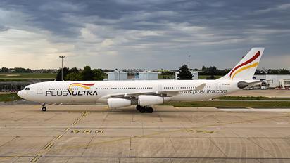 EC-MFB - Plus Ultra Airbus A340-300