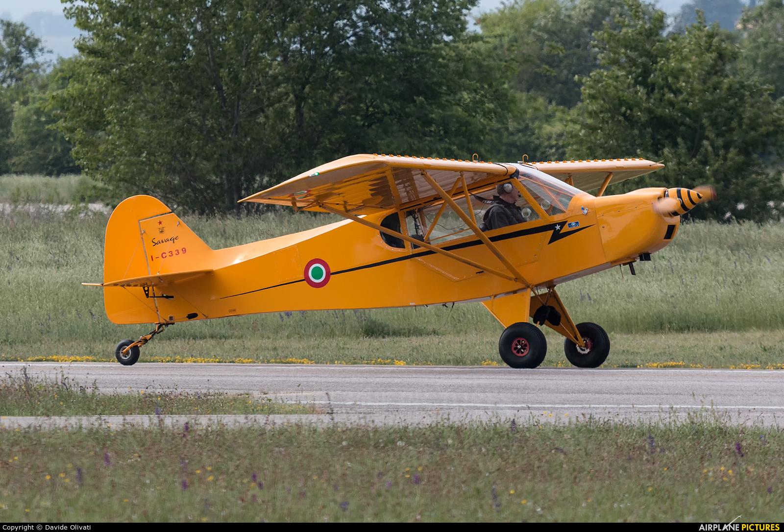 Private I-C339 aircraft at Verona - Boscomantico