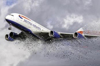 G-XLEH - British Airways Airbus A380