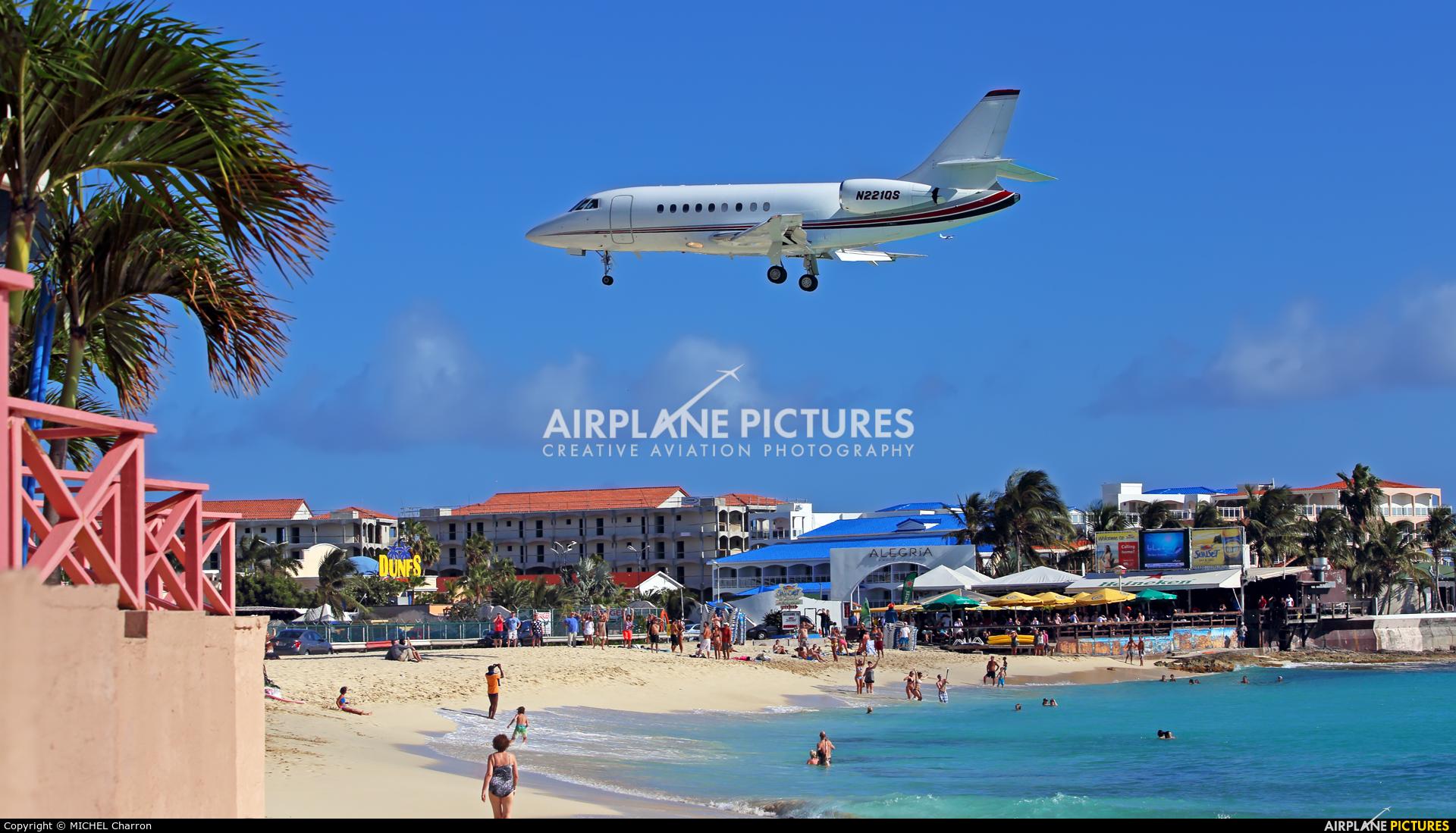 Private N221QS aircraft at Sint Maarten - Princess Juliana Intl