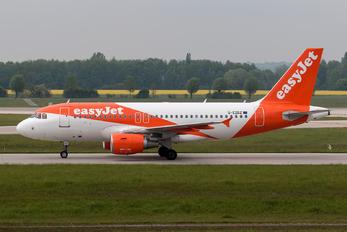 G-EZDZ - easyJet Airbus A319