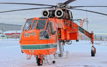 N176AC - Helifor Sikorsky S-64E/F Skycrane