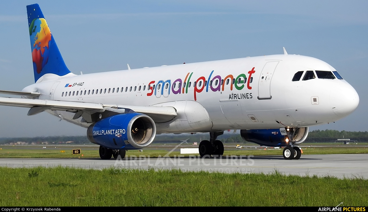 Small Planet Airlines SP-HAD aircraft at Katowice - Pyrzowice