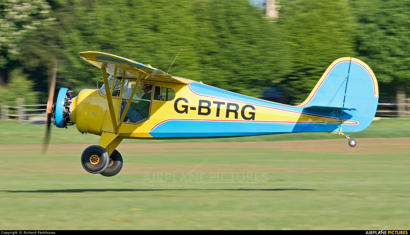 Private G-BTRG aircraft at Old Warden