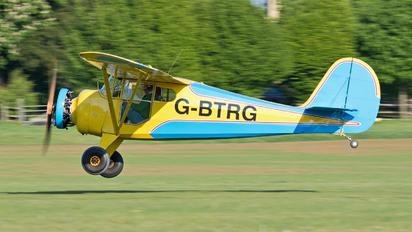 G-BTRG - Private Aeronca Aircraft Corp 65 Super Chief