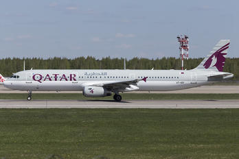 A7-ADV - Qatar Airways Airbus A321