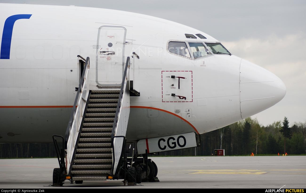 Cargo Air LZ-CGO aircraft at Katowice - Pyrzowice
