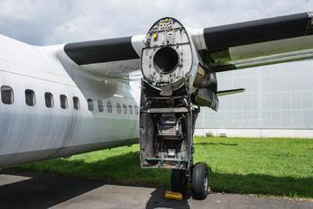 OO-VLO - VLM Airlines Fokker 50