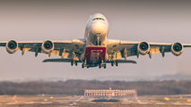 A6-EDR - Emirates Airlines Airbus A380 aircraft