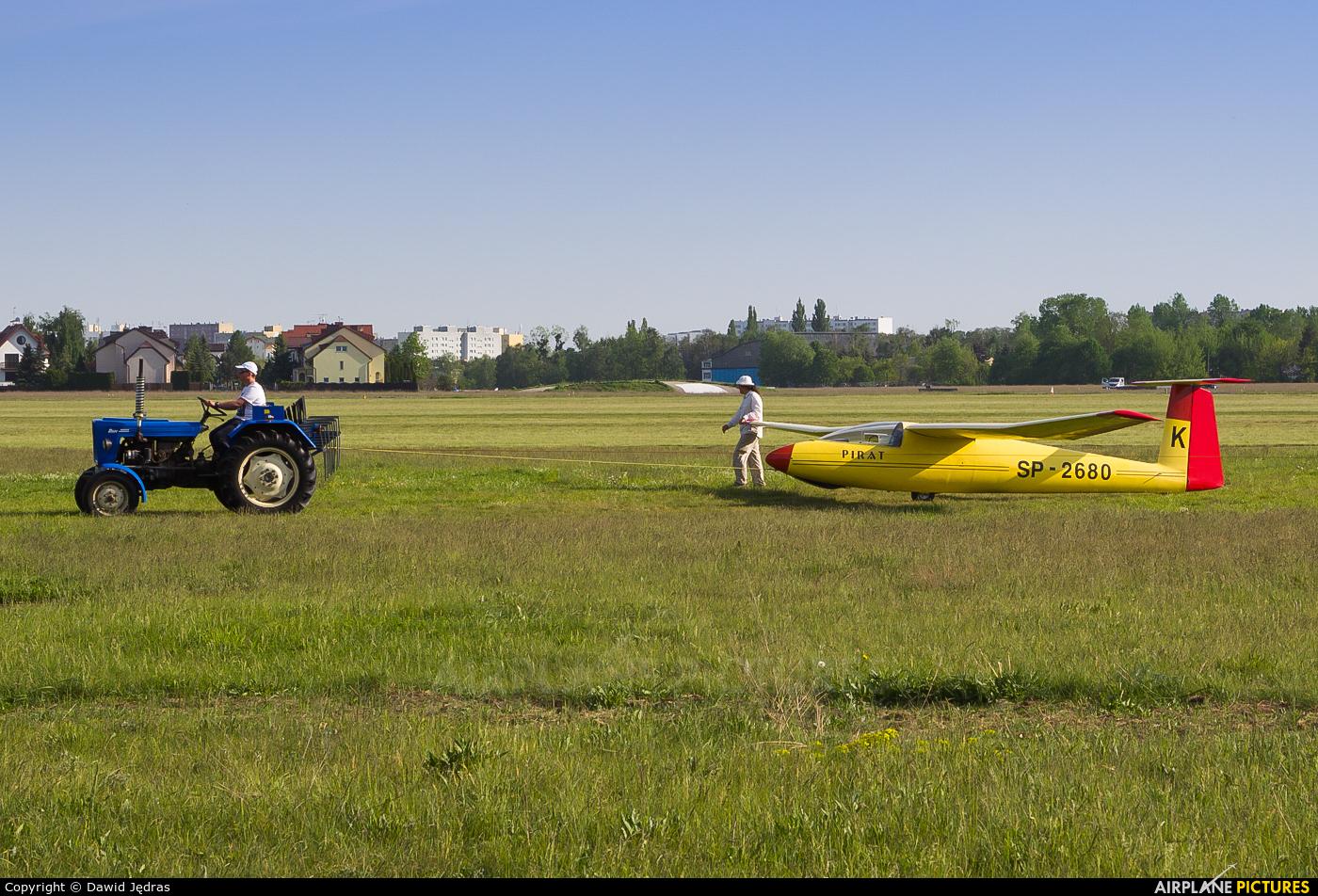 Aeroclub Warsaw SP-2680 aircraft at Warsaw - Babice
