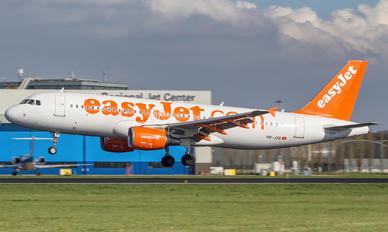 HB-JXB - easyJet Switzerland Airbus A320