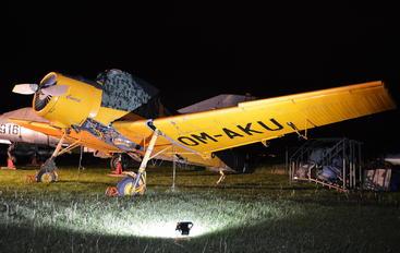 OM-AKU - Private Zlín Aircraft Z-37A Čmelák