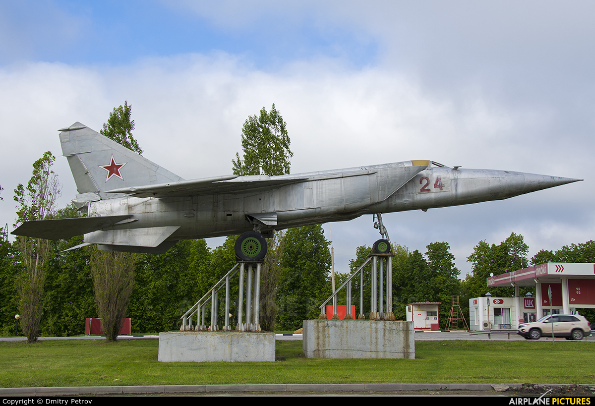 Russia - Air Force 24 aircraft at Off Airport - Russia