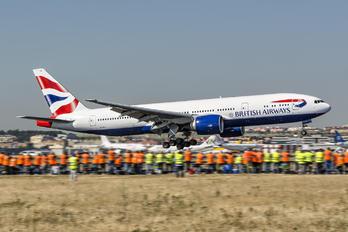 G-VIIJ - British Airways Boeing 777-200