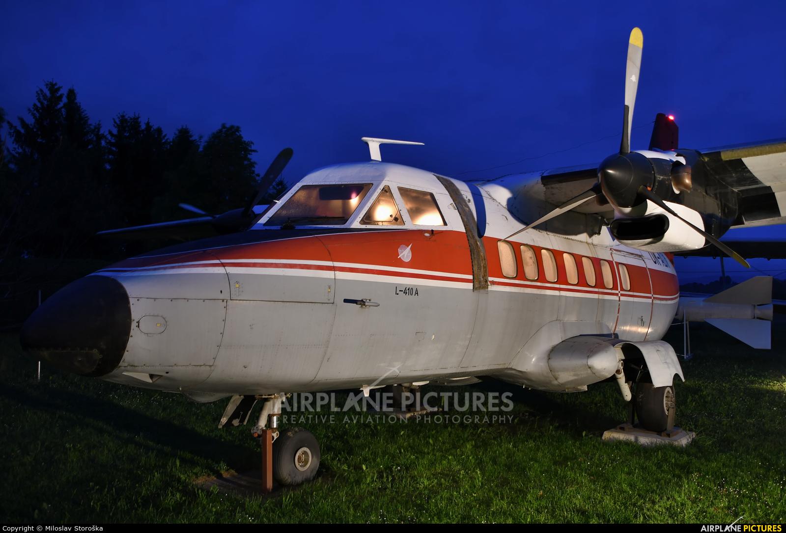 Private OK-ADN aircraft at Martin-Tomčany