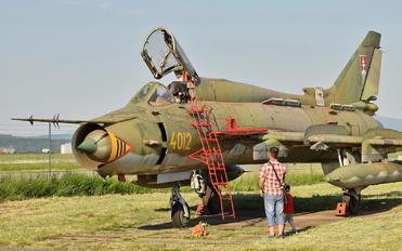 4012 - Slovakia -  Air Force Sukhoi Su-22M-4