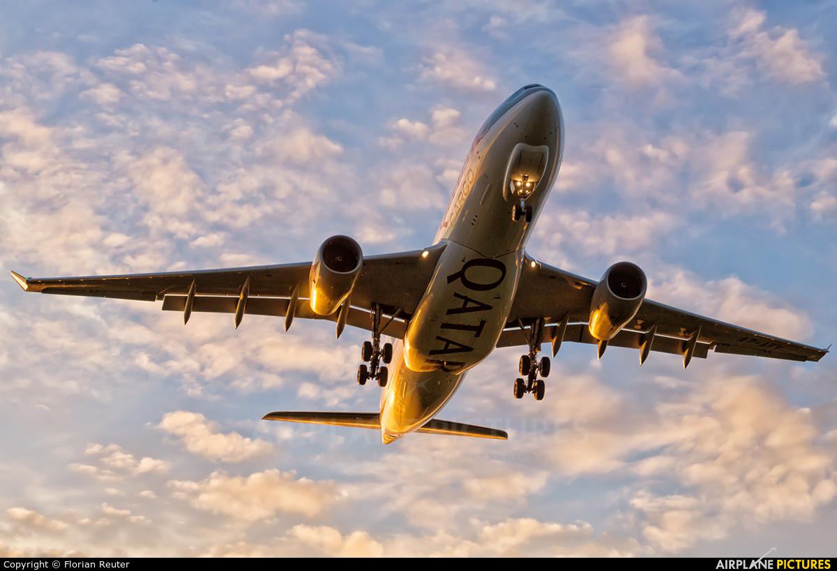Qatar Airways Cargo A7-AFV aircraft at Cologne Bonn - Konrad Adenauer