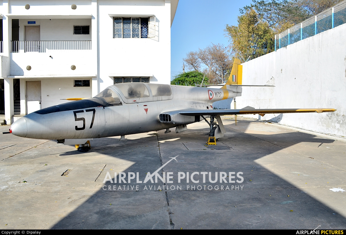 India - Air Force W1757 aircraft at Off Airport - India