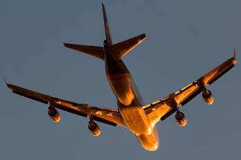 N582UP - UPS - United Parcel Service Boeing 747-400F, ERF