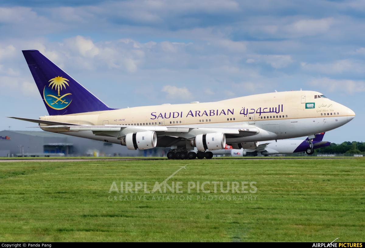 Saudi Arabia - Government HZ-HM1B aircraft at London - Stansted